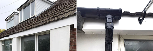 Gutters, fascias, bargeboards, soffits on round and square profiles and white, brown, grey or black.